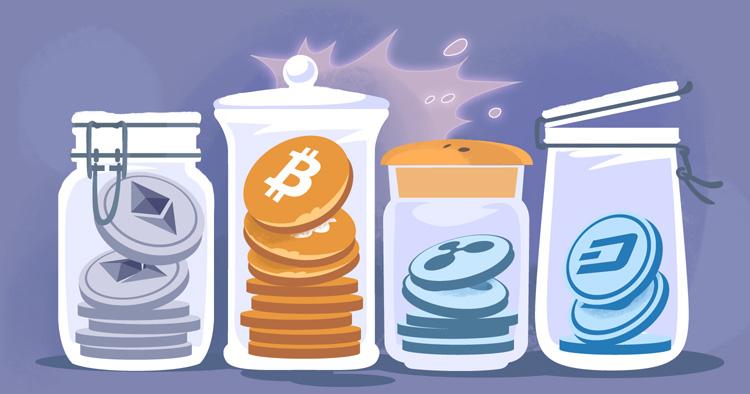 Хранение криптовалюты на бирже