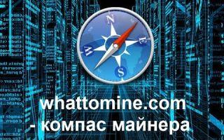 Калькулятор от сайта Whattomine – надежный помощник майнера