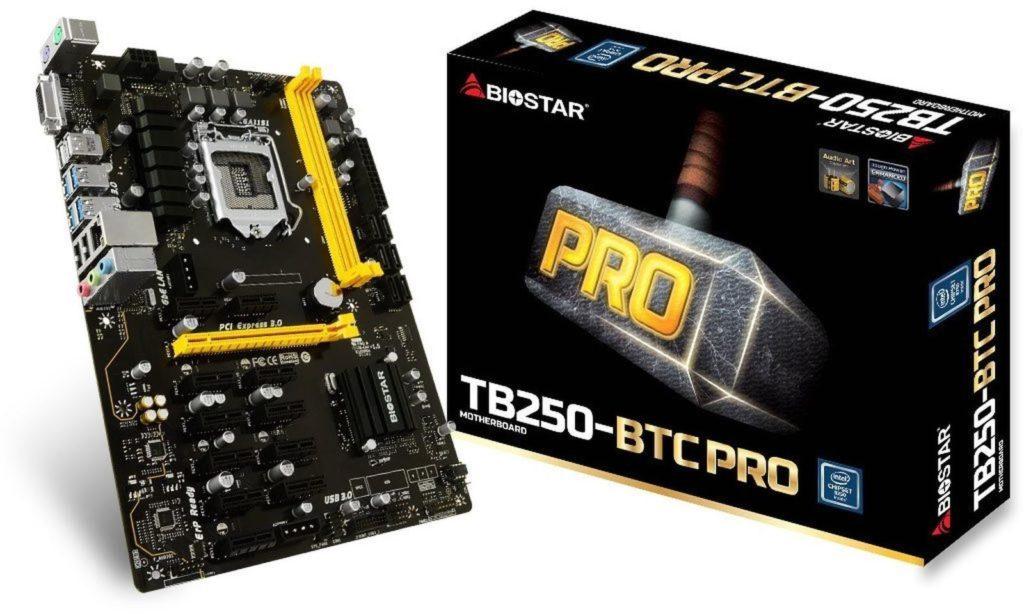 Biostar TB250-BTC socket 1151
